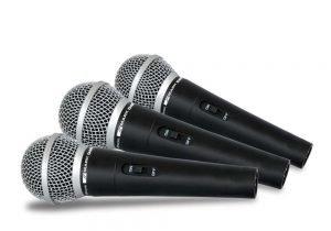 Micrófonos de cable