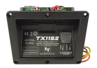Panel de entrado y filtro crossover Electrovoice para TX1152
