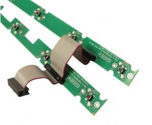 Placa Siwtch superior e inferior Line6 para HD500X