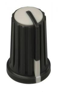 Botón knob Yamaha blanco para mesaas series MG, MG166, MG266 etc