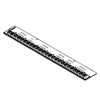 Set placas base de contacto + gomas de contacto Roland para System 1