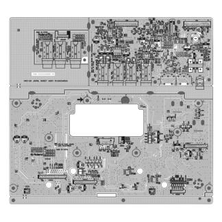 5100034500 Jack panel assy para Handsonic HPD20