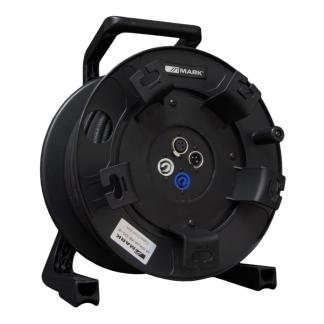 M DRUM XS 100/2 Cable audio y alimentación con enrollador 25m