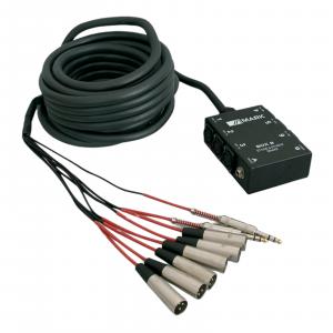 BOX 8  Manguera multipar audio 6 envíos 2 retornos