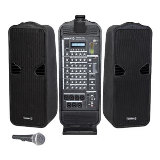 Reader 408 Sistema audio portátil amplificado