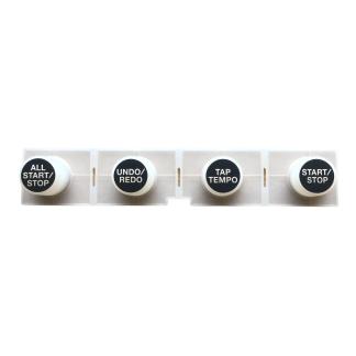 Goma boton All STart/Stop, Undo/Redo, Tap/Tempo, Start/Stop Roland RC505