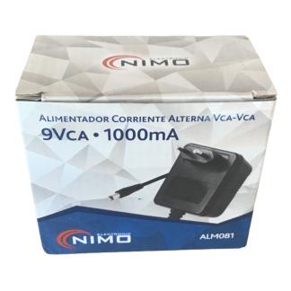 ALM081 Alimentador CA 9v 1000mA