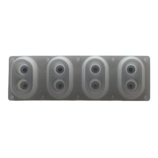 WF212402 Goma de contacto 4 p Yamaha para DGX620, DGX630,DGX640, DGX650, P35B, P45, P70, P85, P95, P105, P115, MOX6, MOX8