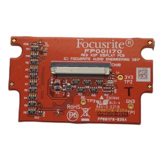 FFFB001248 Placa PCB Display Focusrite para Rednet X2P
